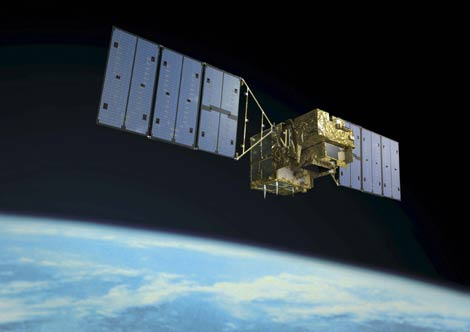 Imagen del satélite 'Ibuki'. (Foto: EFE/JAXA)