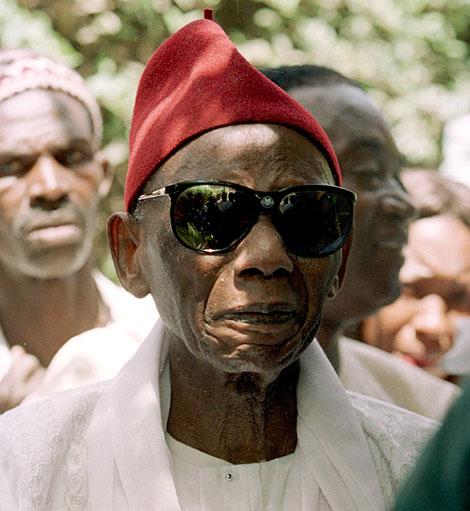 Mamadou Dia en una imagen tomada en el año 2000.| AFP