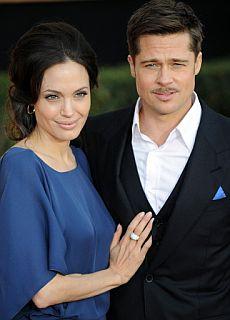 Brad Pitt y Angelina Jolie   AFP