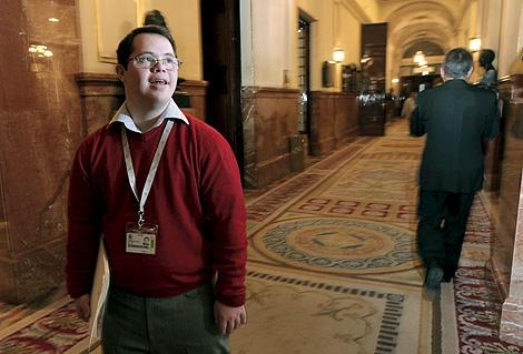 Javier Dorronsoro en los pasillos del Congreso | Efe