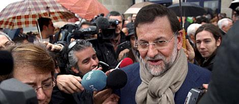 Rajoy, este martes en Orense | EFE