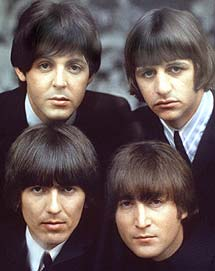 Paul, Ringo, George y John. (Foto: AP)
