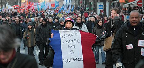 Manifestantes en París | AFP