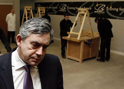 El primer ministro británico, Gordon Brown.   AP