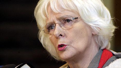 La nueva primera ministra, Sigurdardottir. | Reuters