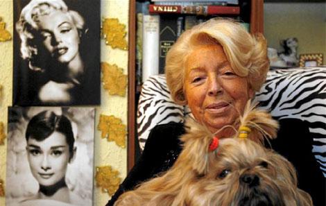La señora Rius en 'su salón de confidencias'   Antonio Moreno