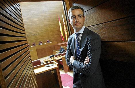 Ricardo Costa, secretario general del PP valenciano. | Foto: José Cuéllar