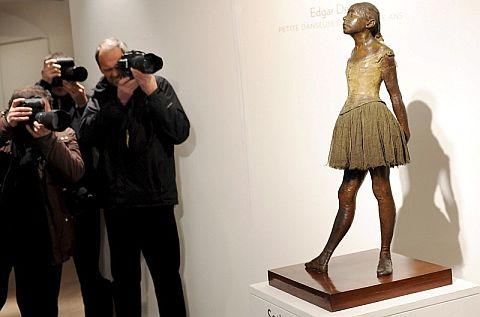 La escultura 'Petite danseuse de quatorze ans'. | Efe