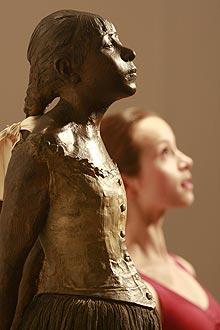 La escultura de Degas. | Reuters