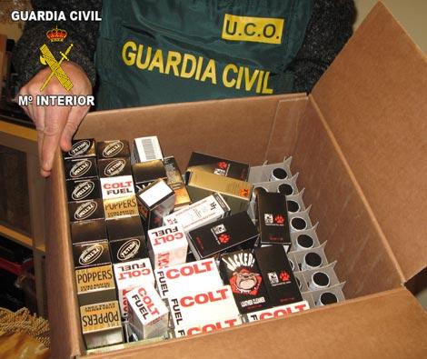 Algunos de los productos incautados. | Guardia Civil