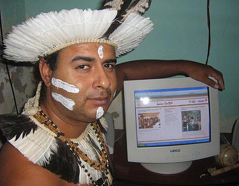 Uno de los participantes en el proyecto. (Foto: 'Indios online')