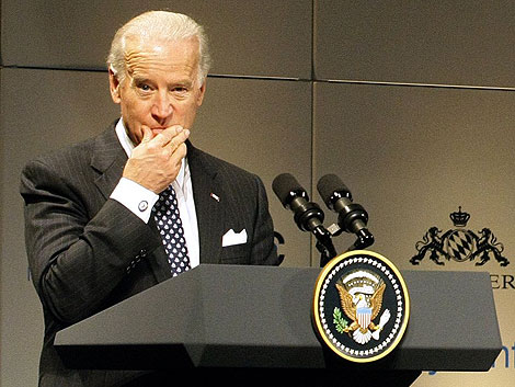 Joe Biden en la 45 Conferencia de Política de Seguridad, en Múnich. | Reuters