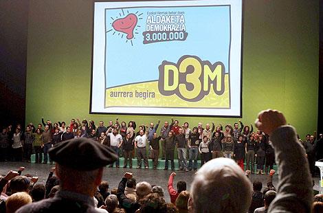Presentación de D3M el pasado 31 de enero y que el Supremo ha anulado. | Efe