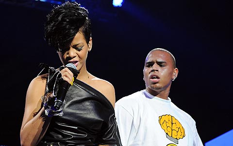 Rihanna y Chris Brown. (Foto: AP)
