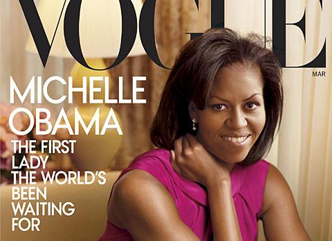 Michelle Obama, en la portada de la revista. Foto: Annie Leibovitz | Vogue | AP