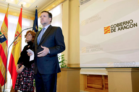 El presidente de Aragón, Marcelino Iglesias | EFE