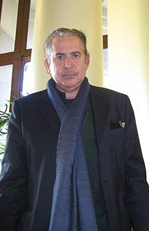 El escritor Antonio Lázaro.
