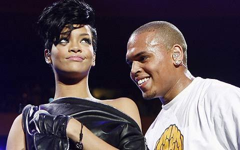 Rihanna y Chris Brown. (Foto: REUTERS)
