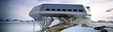 La base Princesa Isabel, inaugurada en la Antártida. | AFP