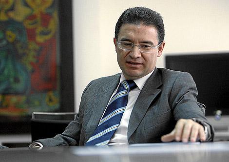 El conseller de Gobernación, Serafín Castellano   José Cuéllar