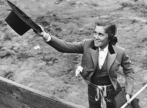 Conchita Citrón en una imagen tomada en Tijuana en 1941. | elmundo.es