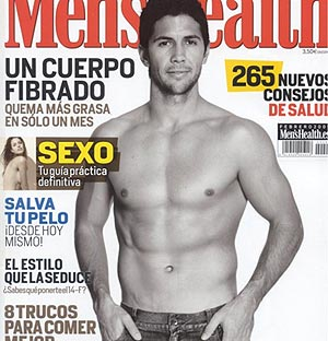 Verdasco, portada de 'Men´s Health'.