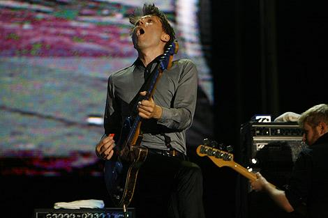 Alex Kapranos, en el Rock in Río de Madrid, el año pasado. | Antonio M. Xoubanova