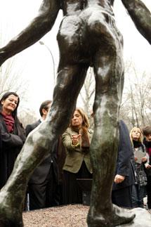 Rodin, admirado en Madrid. | EFE