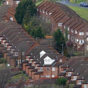 Hileras de casas en High Wycombe al sur de Inglaterra | Reuters
