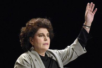 Charo López, atriz. Ical.