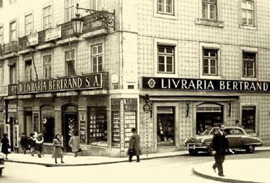 La librería Bertrand en los 50, en el barrio de Chiado