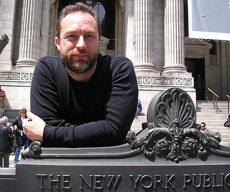 El fundador de Wikipedia, Jimmy Wales. (Foto: Ricard González)