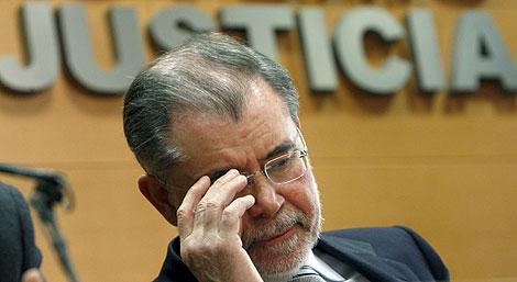 Fernández Bermejo, en una imagen tomada el pasado día 18. | Efe
