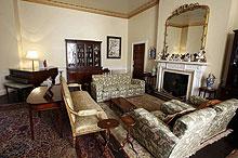 La habitación donde Christie escribía. | AP