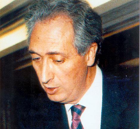 Publio Cordón, en una imagen de 1995.   Efe