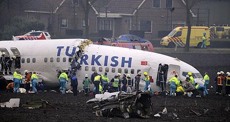 Imagen del avión accidentado. | Foto: AFP