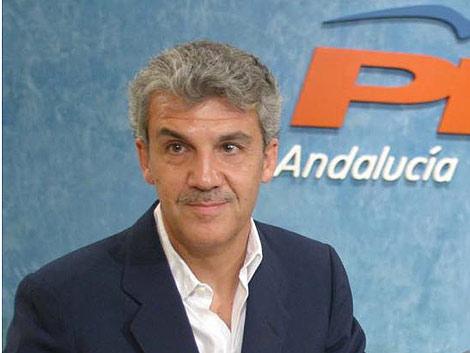 Gerardo Galeote durante un acto del PP celebrado en Sevilla en 2005. | Fernando Ruso