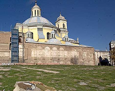 Basílica de San Francisco el Grande y parque de la Cornisa. (Foto: El Mundo)