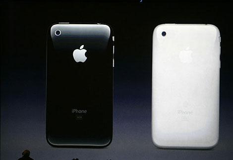 La presentación del iPhone 3G. | AP