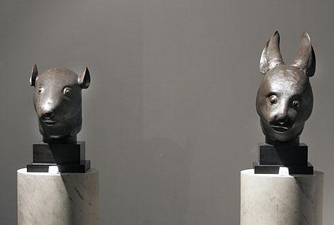 Los bronces de la polémica | AP