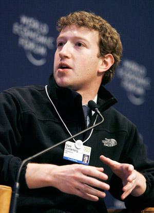 Mark Zuckerberg, fundador de Facebook.   Foto: Ap