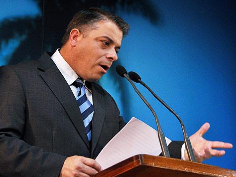 Felipe Pérez Roque, el pasado mes de enero. | Afp