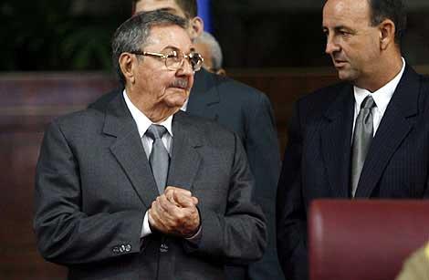 Raúl Castro, en un acto político en septiembre. (Foto: AP)