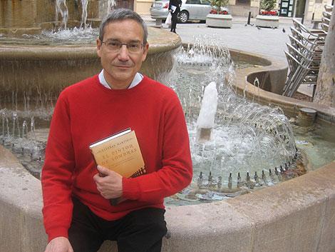 Esteban Martín en la plaza Rodrigo Botet de Valencia | E.M.