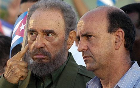 Fidel y Lage, en una imagen de 2006. | Efe