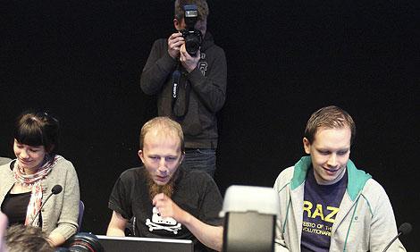 Gottfrid Svartholm y Peter Sundin, dos de los procesados | Reuters
