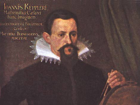 Retrato de Kepler. | Wikimedia Commons