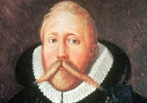 Retrato de Tycho Brahe.   Wikimedia Commons