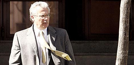 El juez Baltasar Garzón, a la salida de la Audiencia Nacional. | Alberto Di Lolli