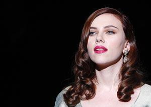 Scarlett, versión pelirroja.   Reuters